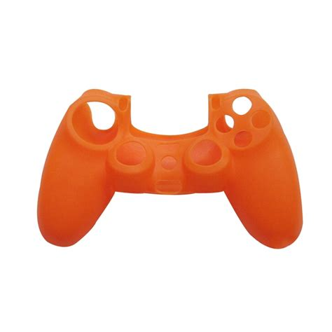 ps4 controller orange light orange light blue silicone rubber skin controller light