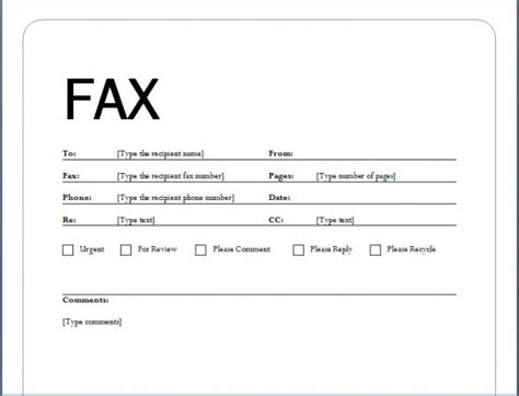 fax cover sheet template for pages image gallery exle fax