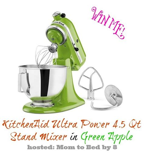 Kitchenaid Sweepstakes - green kitchen aid giveaway laughing and losing it