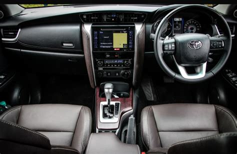 interior new fortuner 2018 new toyota fortuner 2016 interior features comfort and