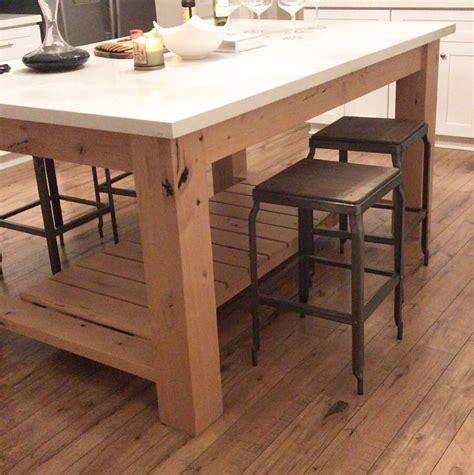 kitchen island base buy a hand made chunky rustic kitchen island base made to