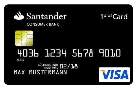 kreditkarte bargeld abheben limit santander 1plus visa card kreditkarte test warum ist sie