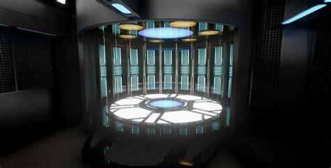 Transporter Room by Transporter Room Image Trek Voyager Project