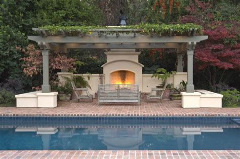 pool pergola ideas pergola by the pool 20 landscaping design ideas style motivation