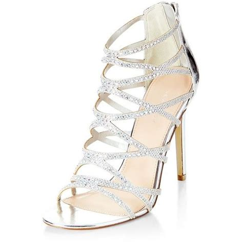 Hight Hells Silver 25 best ideas about silver high heels on