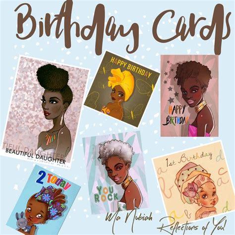 Afro Caribbean Birthday Cards