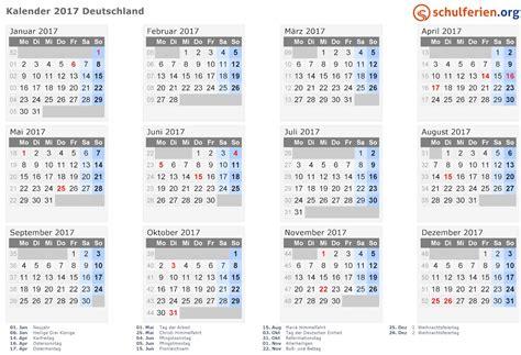 Kalender 2017 Tage Februar Kalender 2017 Termine