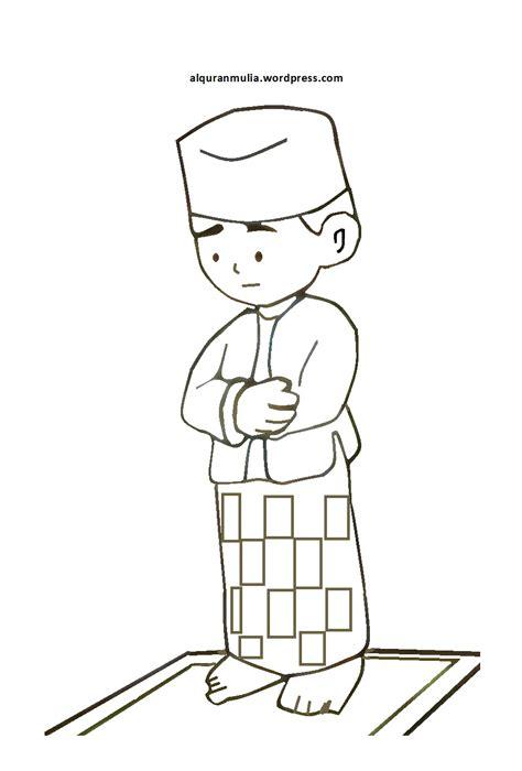 desain gambar mewarnai download gambar mewarnai anak muslim desain hidupmu