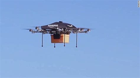 amazon drone amazon s drone delivery how would it work cnn