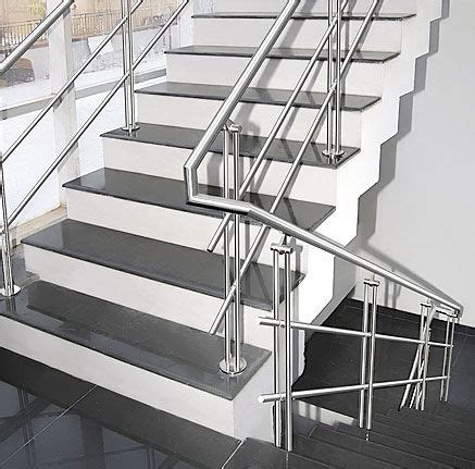 Metal Garden Handrails Stainless Steel Balustrades Glass Productions Uk
