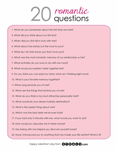 blog questions about me images 20 romantic questions for valentine s day shesteals com