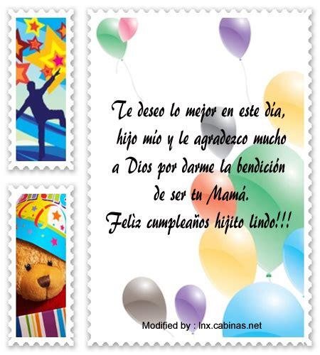 imagenes con mensajes de cumpleaños para los hijos lindos mensajes de cumplea 241 os para un hijo saludos de