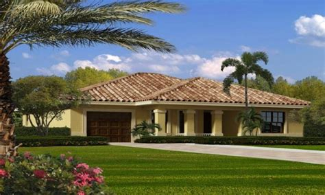 Mediterranean Ranch House Plans by Single Story Mediterranean House Plans Single Story Ranch