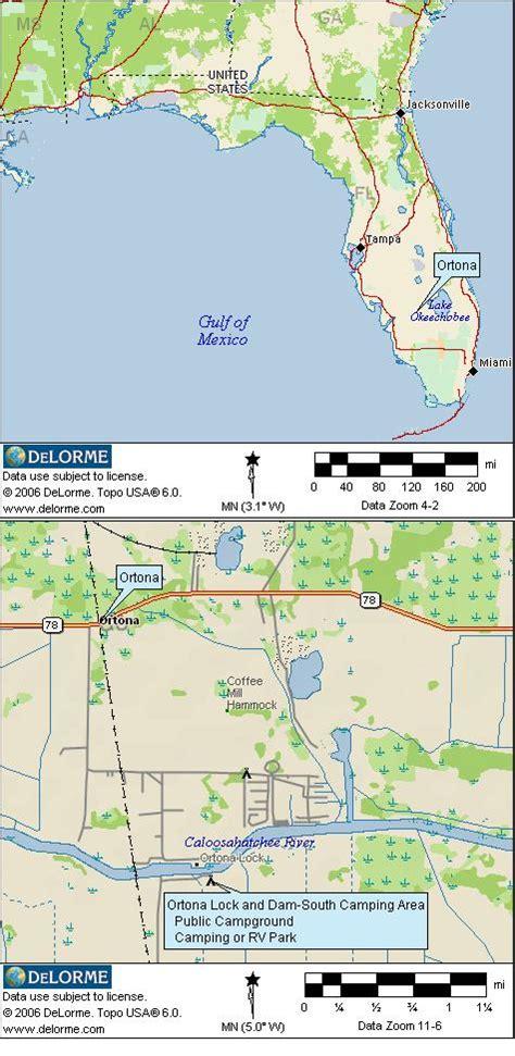 florida cground map florida rv cing and cgrounds
