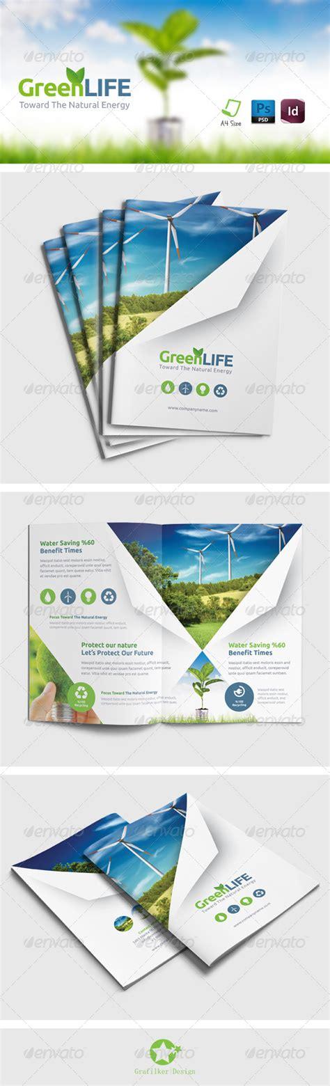 brochure template environmental green energy brochure templates brochure template