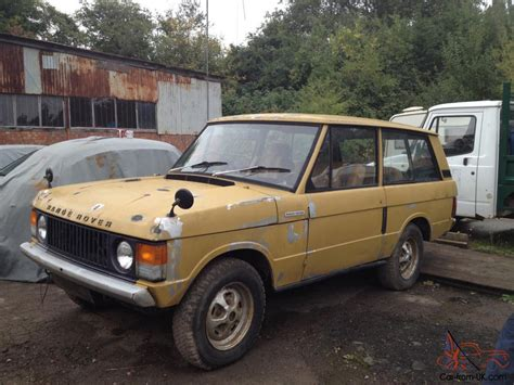 range rover gold range rover bahama gold suffix a 1972