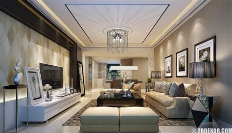 Drawing Room Ceiling Designs by Salon Asma Tavan Modelleri Ve Dekorasyonlar箟 Modern Salon