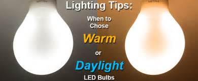 best white lights choosing daylight or warm color bulbs
