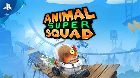 animal super squad launch trailer ps youtube