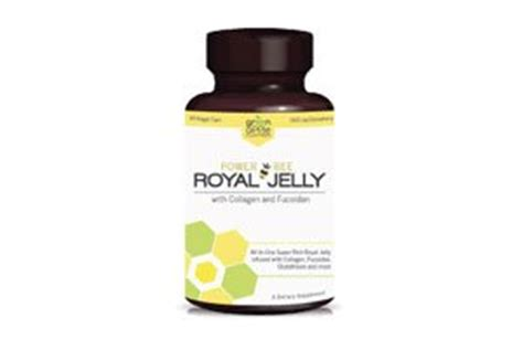 Gluta Royal Jeli power bee royal jelly with collagen and fucoidan dietary supplement 60 veggie caps