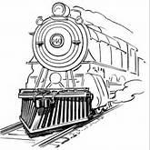 Train Outline Clipart - Clipart Kid
