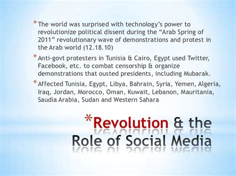 thesis about the effects of social media impact of social media on political change in egypt term