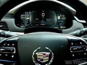 Cadillac Cue Cadillac Cue Driving Is Safer And More Dangerous Than