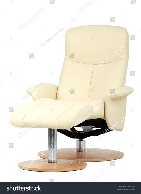 off white leather recliner off white leather recliner chair with matching footstool