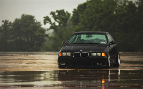 bmw black car wallpaper hd bmw m3 e36 black car rain wallpaper cars hd wallpapers