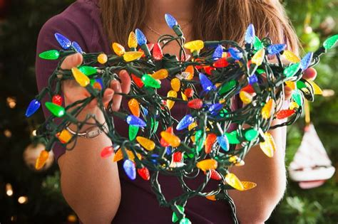 tesco advertises for christmas tree lights untangler in