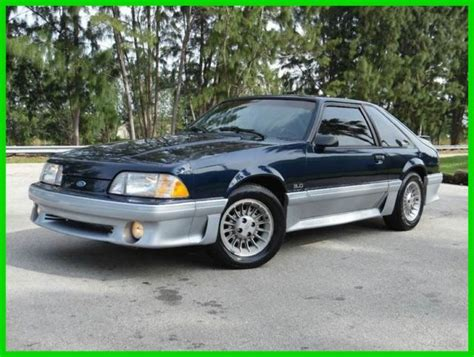 mustang gt 1989 1989 ford mustang gt 5 0l v8 automatic 25th year