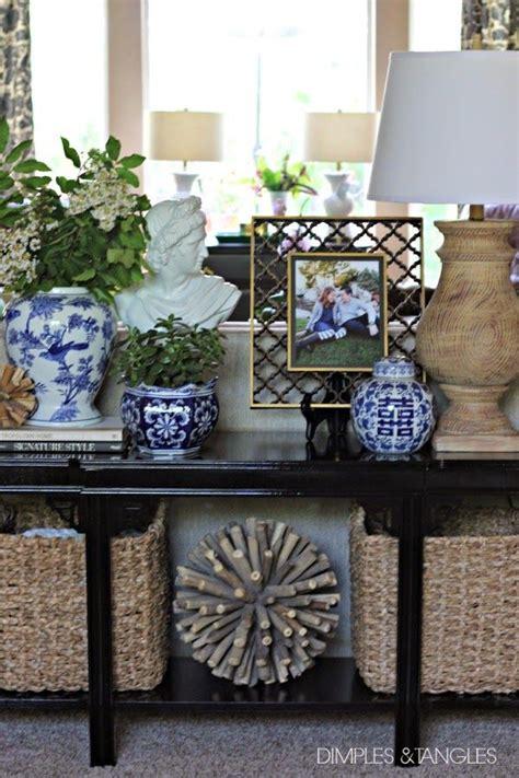 sofa table decor ideas best 25 sofa table styling ideas on pinterest entry