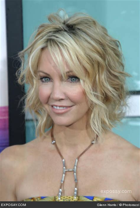 beach wave perm with bangs heather locklear beach waves hair and makeup looks