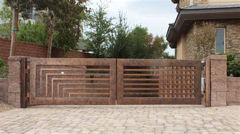 wrought iron driveway gates designs design valiet org contemporary home decor ideas