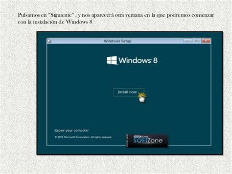 tutorial video windows 8 tutorial de instalacion windows 8