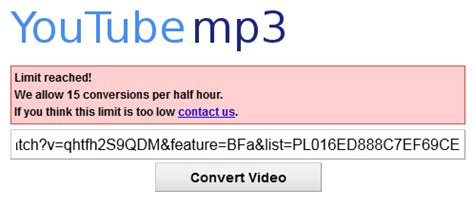 download mp3 from youtube no time limit how to bypass youtube mp3 org time limit reached page