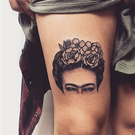 frida kahlo tattoos fabulous work by por goldlagrimas frida kahlo