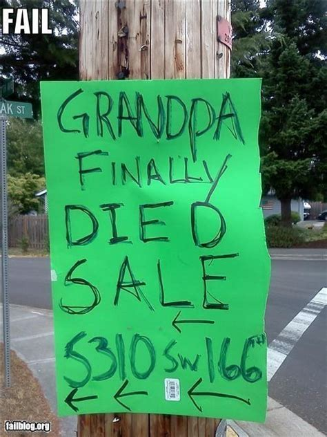 Creative Garage Sale Signs by 22 Hilariously Creative Yard Sale Signs
