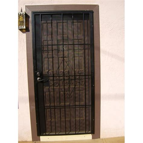 Metal Security Doors by Handyman Hookup Metal Security Doors Installed With A