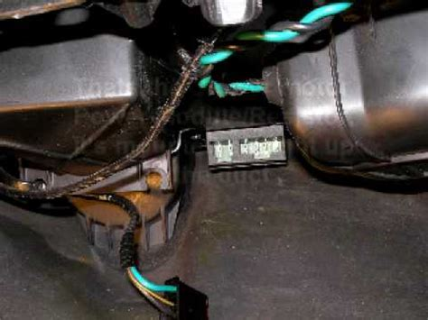 2000 buick century blower motor resistor location blower motor resistor 2003 buick lesabre