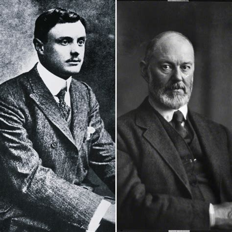 founders of rolls royce charles rolls left and sir henry royce right founders