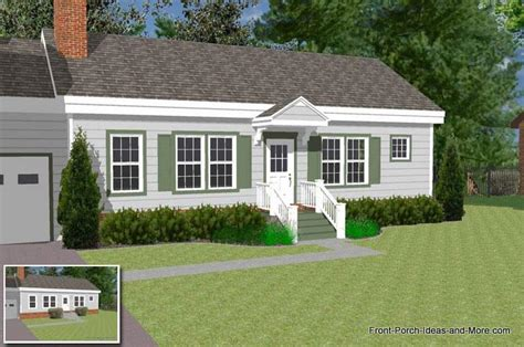 house plans with portico podcast 3 how to extend a small porch or portico