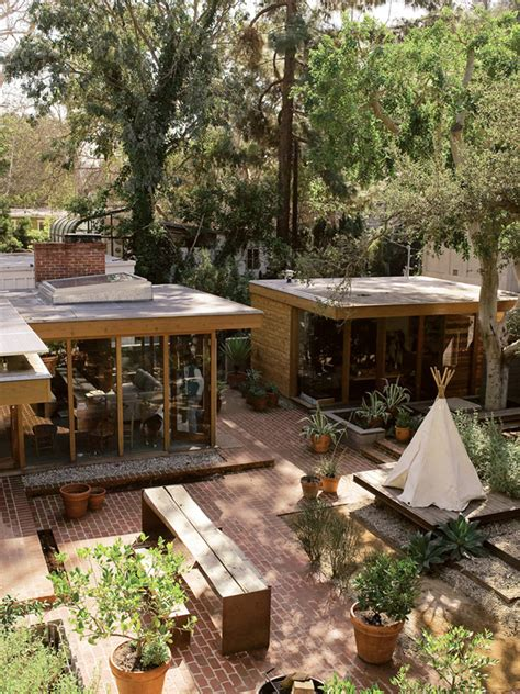 Playhouse Dwell Com yard remodel project outdoor entertaining and relaxing