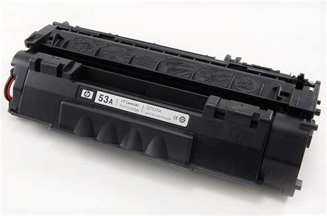 Toner Laserjet 53a hp laserjet p2015 m2727nf toner 53a print cartridge q7553a