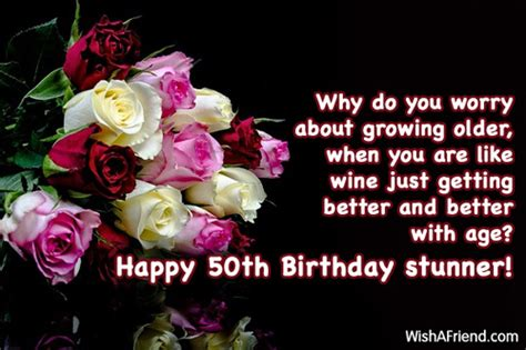 Happy 50th Birthday Wishes 50th Birthday Wishes