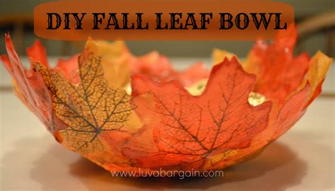 15 best autumn decorating tips and ideas freshome com diy fall leaf bowl thanksgiving home decorating ideas best