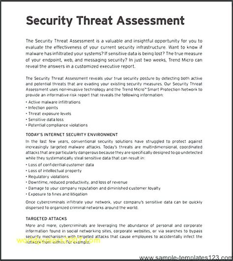risk assessment security survey template physical security risk assessment template dipmycar co