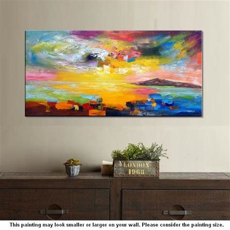 Contemporary Abstract Canvas Wall