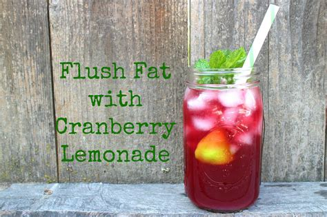 Lemonade And Cranberry Detox And Flare Ups flush with cranberry lemonade lettuce be healthy