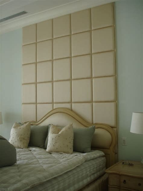 headboard squares custom upholstered fabric and pdded square headboard